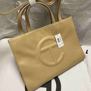 🦄Telfar🦄 Medium Cream Shopping Shoulder Bag